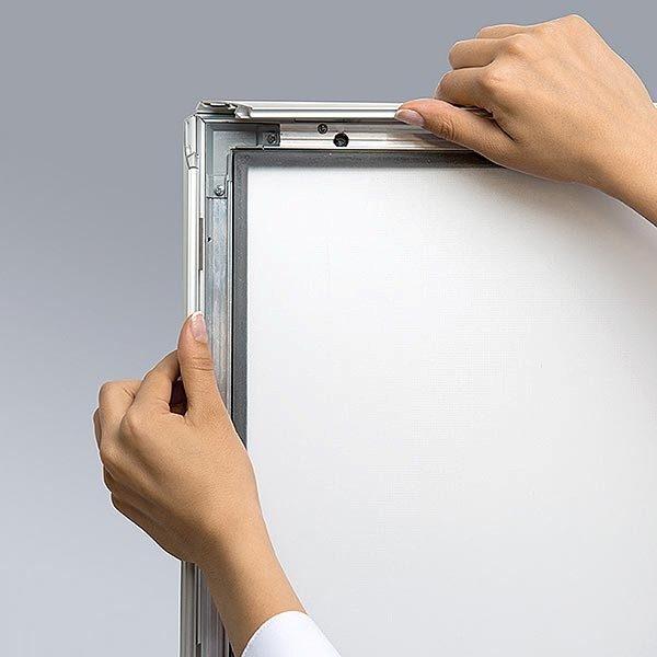 LED Leuchtrahmen Premium Outdoor 35mm DIN A4 Postermaß einseitig 9