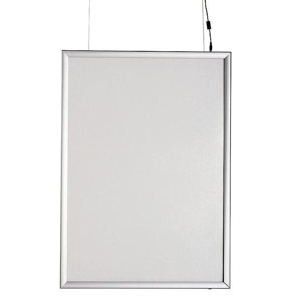 LED Leuchtrahmen Premium doppelseitig 25mm DIN A1 Postermaß doppelseitig 2