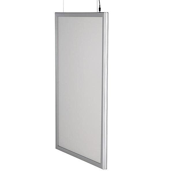 LED Leuchtrahmen Premium doppelseitig 25mm DIN A1 Postermaß doppelseitig 7