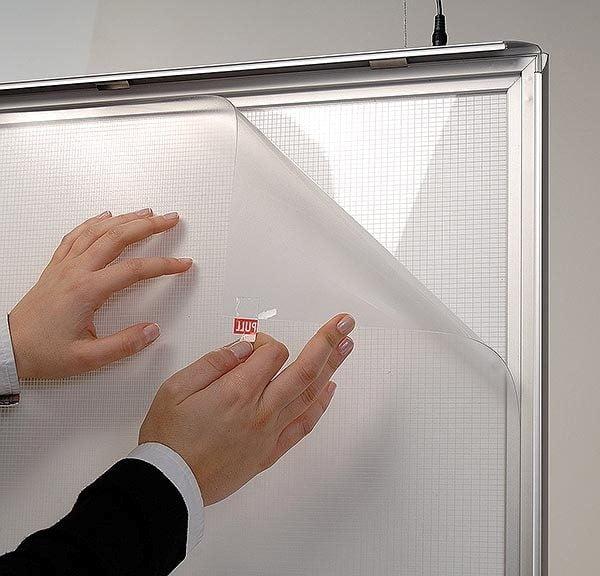 LED Leuchtrahmen Premium doppelseitig 25mm DIN A1 Postermaß doppelseitig 9