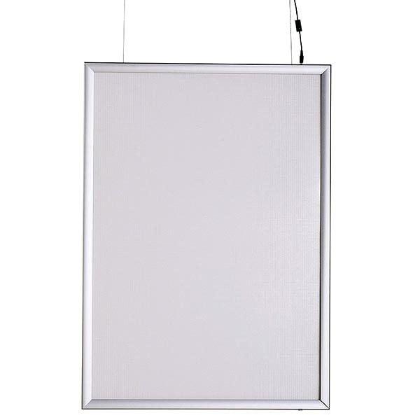LED Leuchtrahmen Premium doppelseitig 25mm DIN A4 Postermaß doppelseitig 2