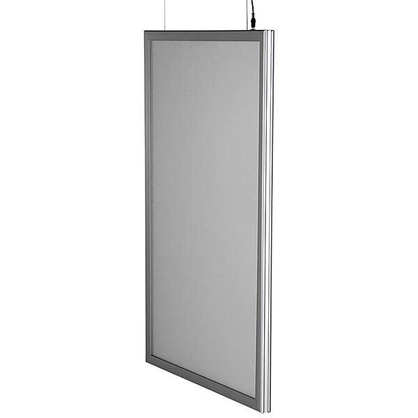 LED Leuchtrahmen Premium doppelseitig 25mm DIN B2 Postermaß doppelseitig 7