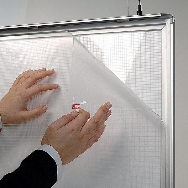 LED Leuchtrahmen Premium doppelseitig 25mm DIN B2 Postermaß doppelseitig 9
