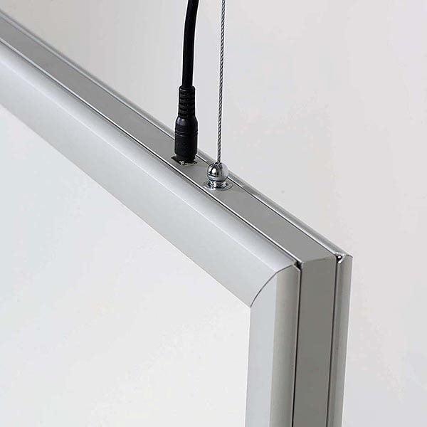 LED Leuchtrahmen Premium doppelseitig 35mm DIN A0 Postermaß doppelseitig 5