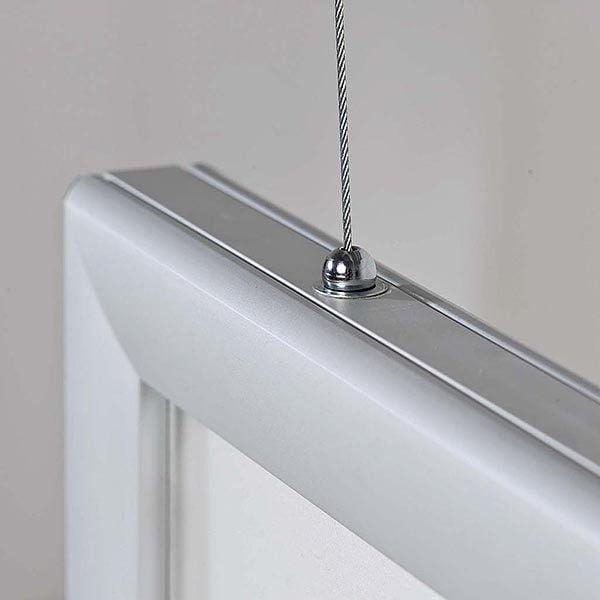 LED Leuchtrahmen Premium doppelseitig 35mm DIN A0 Postermaß doppelseitig 6