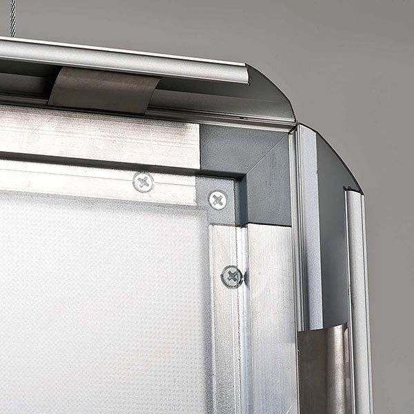 LED Leuchtrahmen Premium doppelseitig 35mm DIN A0 Postermaß doppelseitig 8