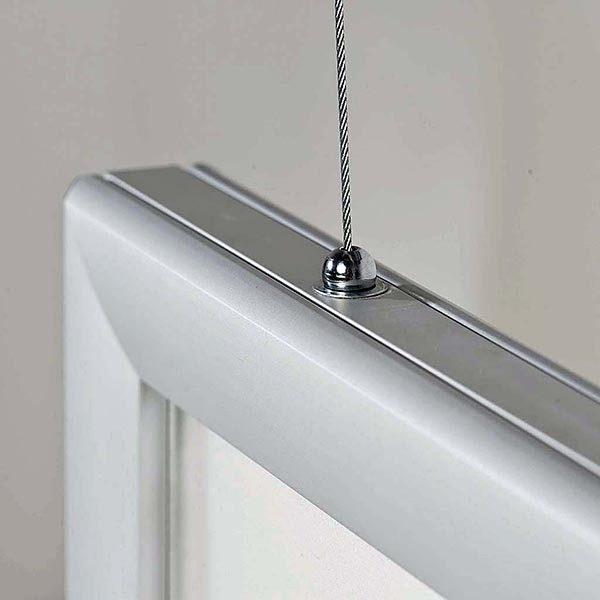 LED Leuchtrahmen Premium doppelseitig 35mm DIN B0 Postermaß doppelseitig 6