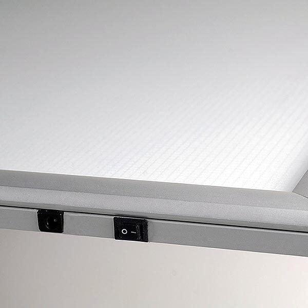 LED Leuchtrahmen Premium einseitig 25mm DIN A0 Postermaß einseitig 10