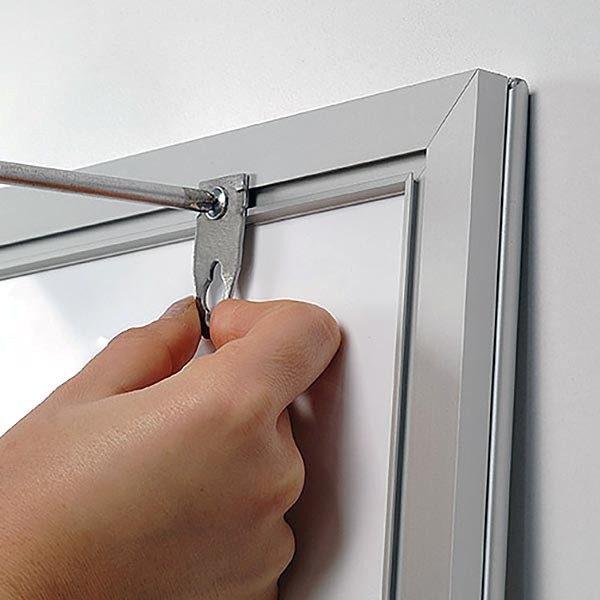 LED Leuchtrahmen Premium einseitig 25mm DIN A0 Postermaß einseitig 3