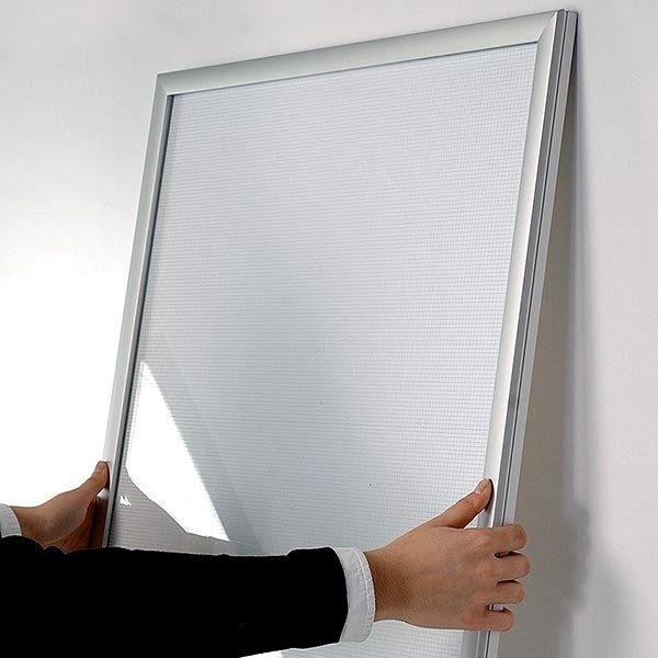 LED Leuchtrahmen Premium einseitig 25mm DIN A0 Postermaß einseitig 4