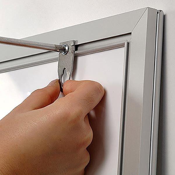 LED Leuchtrahmen Premium einseitig 25mm DIN A4 Postermaß einseitig 3