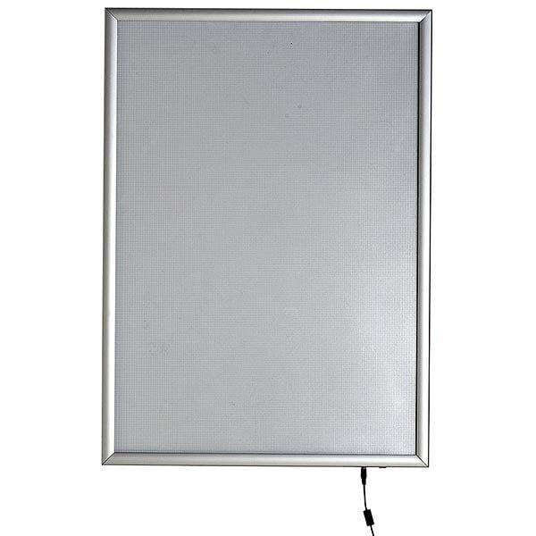 LED Leuchtrahmen Premium einseitig 25mm DIN B2 Postermaß einseitig 2