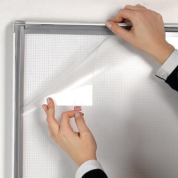 LED Leuchtrahmen Premium einseitig 25mm DIN B2 Postermaß einseitig 6