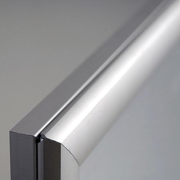 LED Leuchtrahmen Premium einseitig 25mm DIN B2 Postermaß einseitig 9