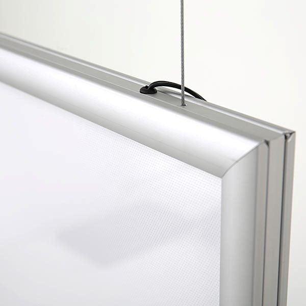 LED Leuchtrahmen Standard doppelseitig 25mm Profil DIN A2 Postermaß doppelseitig 3