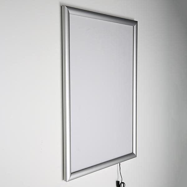 LED Leuchtrahmen Standard einseitig 25mm DIN A1 Postermaß einseitig 3