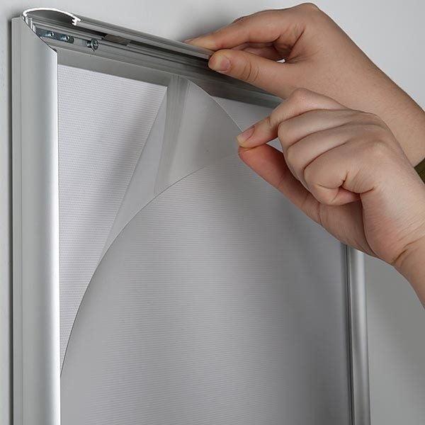 LED Leuchtrahmen Standard einseitig 25mm DIN A1 Postermaß einseitig 4