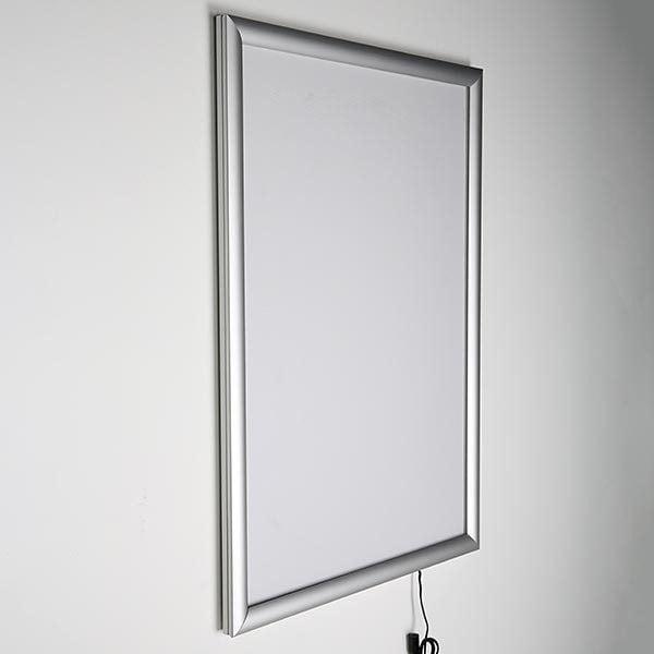 LED Leuchtrahmen Standard einseitig 25mm DIN A2 Postermaß einseitig 3