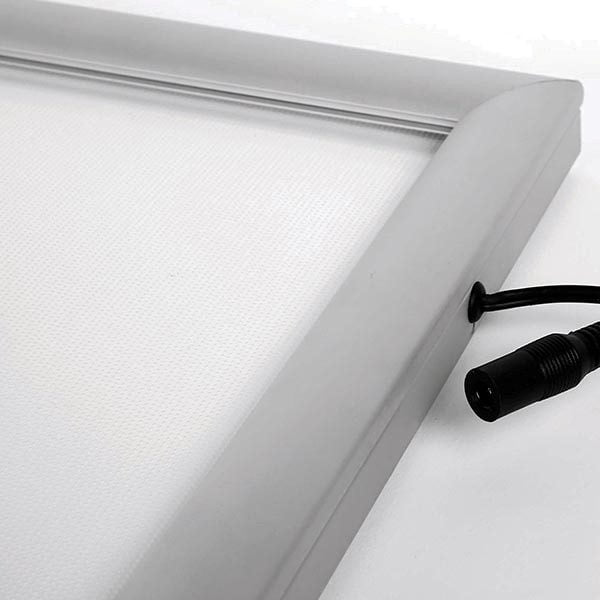 LED Leuchtrahmen Standard einseitig 25mm DIN A3 Postermaß einseitig 8