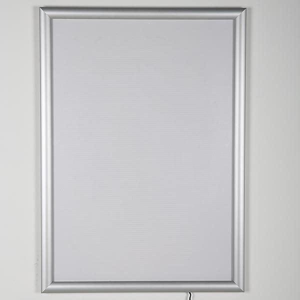 LED Leuchtrahmen Standard einseitig 25mm DIN A4 Postermaß einseitig 2