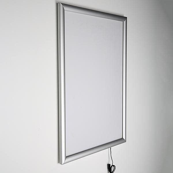 LED Leuchtrahmen Standard einseitig 25mm DIN A4 Postermaß einseitig 3