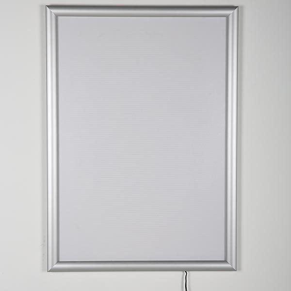 LED Leuchtrahmen Standard einseitig 25mm DIN B1 Postermaß einseitig 2