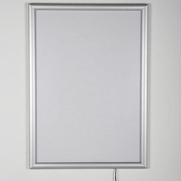 LED Leuchtrahmen Standard einseitig 25mm DIN B2 Postermaß einseitig 2