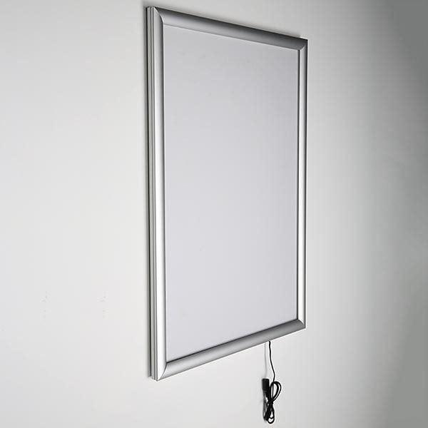 LED Leuchtrahmen Standard einseitig 25mm DIN B2 Postermaß einseitig 3