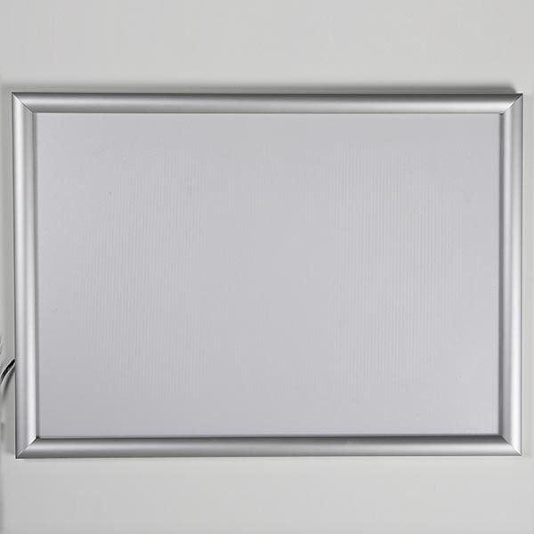 LED Leuchtrahmen Standard einseitig 25mm DIN B2 Postermaß einseitig 9