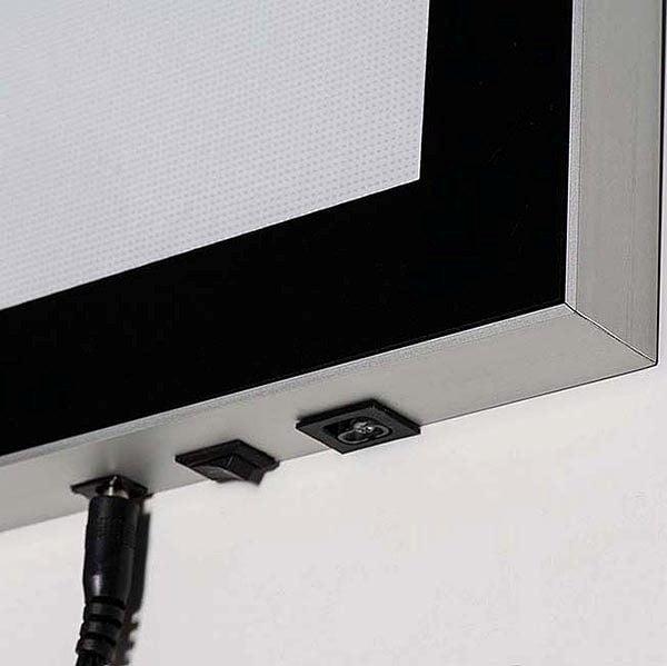 LED Magnetrahmen Premium einseitig DIN A0 Postermaß einseitig 3