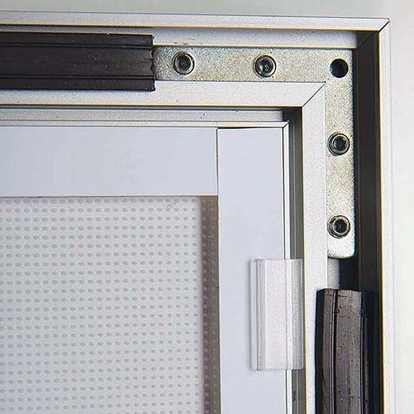 LED Magnetrahmen Premium einseitig DIN A0 Postermaß einseitig 5