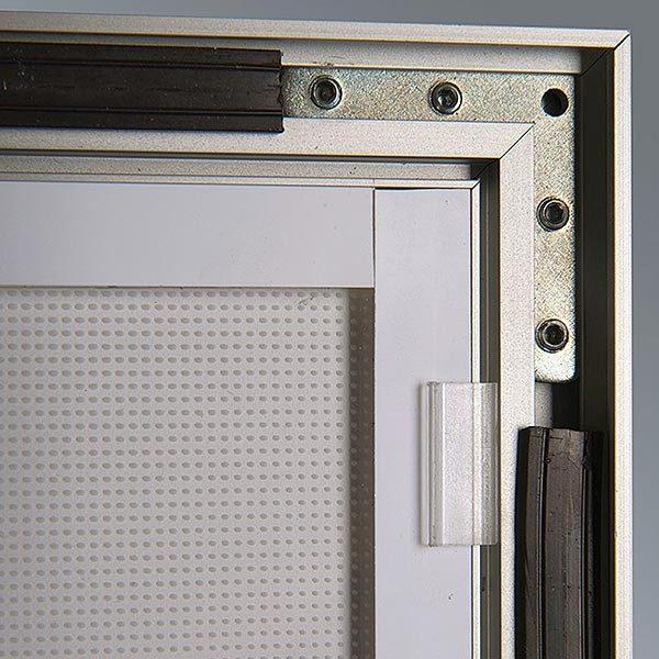 LED Magnetrahmen Premium einseitig DIN A2 Postermaß einseitig 9