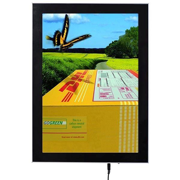 LED Magnetrahmen Premium einseitig DIN A3 Postermaß einseitig 1