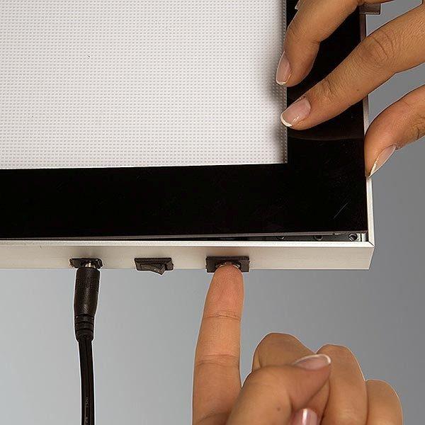 LED Magnetrahmen Premium einseitig DIN A3 Postermaß einseitig 6