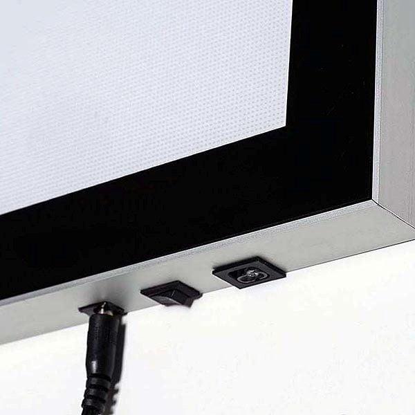 LED Magnetrahmen Premium einseitig DIN A4 Postermaß einseitig 3