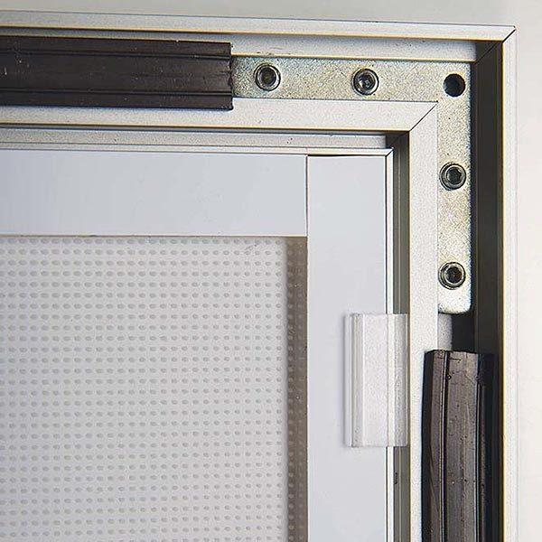 LED Magnetrahmen Premium einseitig DIN A4 Postermaß einseitig 5