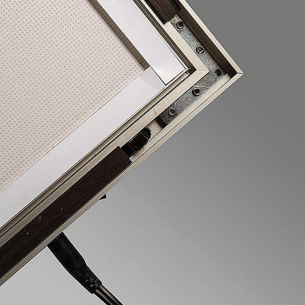 LED Magnetrahmen Premium einseitig DIN B2 Postermaß einseitig 8