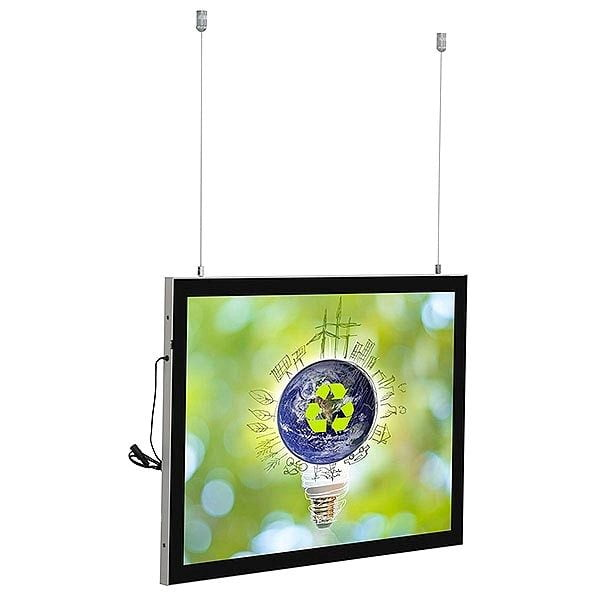 LED Magnetrahmen Standard doppelseitig DIN A1 Postermaß doppelseitig 1
