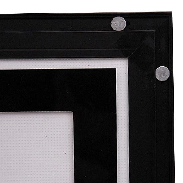 LED Magnetrahmen Standard doppelseitig DIN A1 Postermaß doppelseitig 5