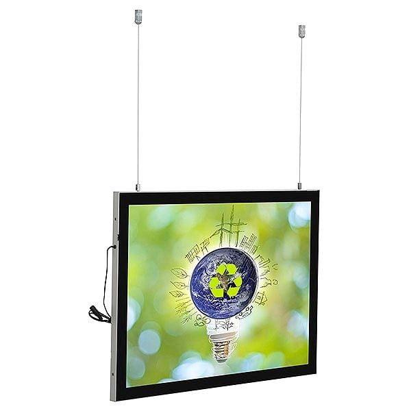LED Magnetrahmen Standard doppelseitig DIN A2 Postermaß doppelseitig 1