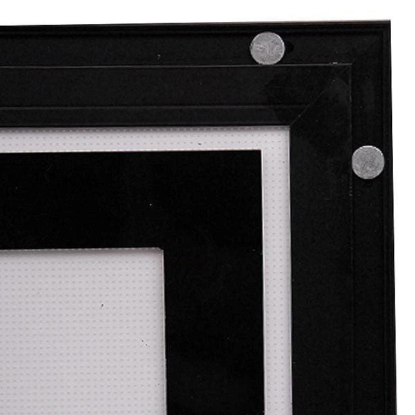LED Magnetrahmen Standard doppelseitig DIN A2 Postermaß doppelseitig 5