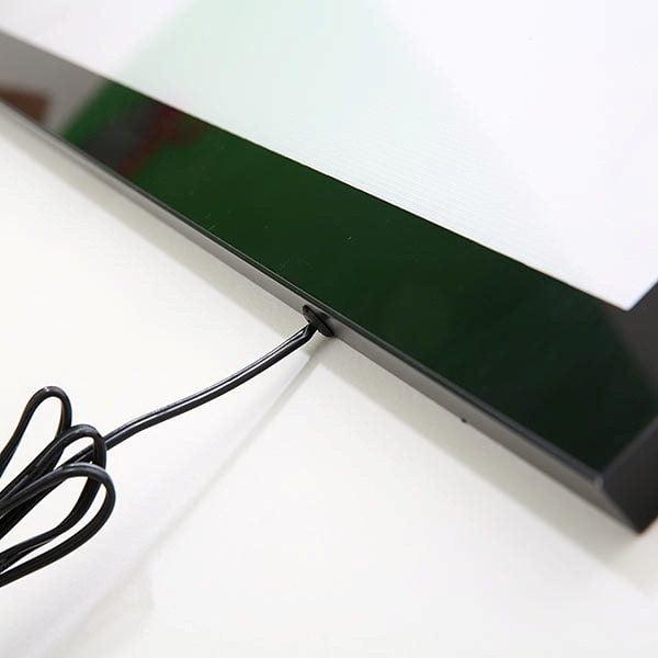 LED Magnetrahmen Standard einseitig DIN A2 Postermaß einseitig 4
