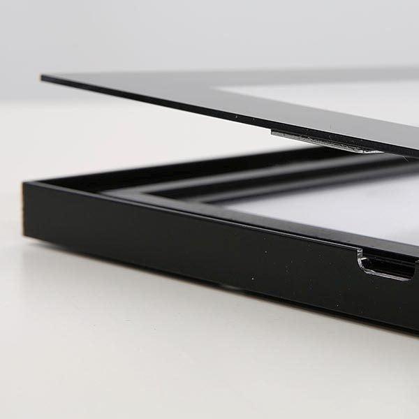 LED Magnetrahmen Standard einseitig DIN B2 Postermaß einseitig 3