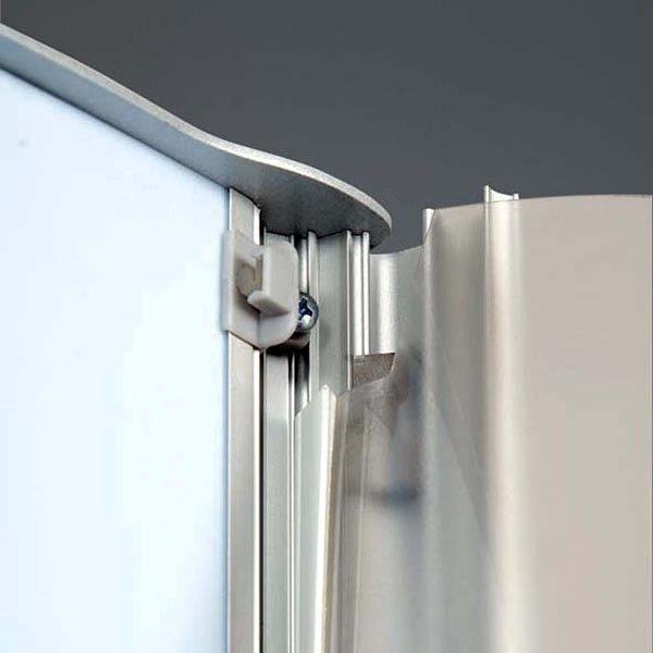 Leuchtsäule Konvex doppelseitig 600 x 1700 mm 3