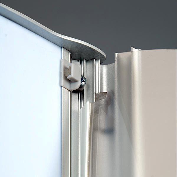 Leuchtsäule Konvex doppelseitig 800 x 1700 mm 4