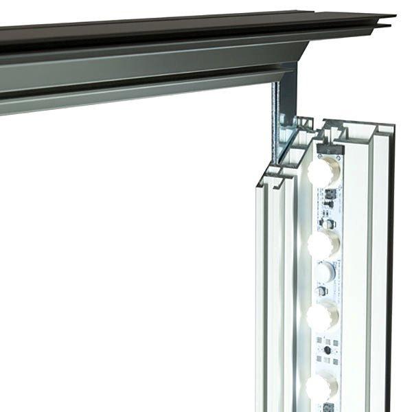 MaxiFrame LED 100 einseitig XXL Format 2000 x 3000 mm 4