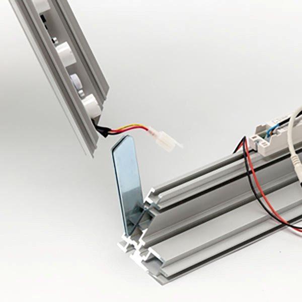 MaxiFrame LED 100 einseitig XXL Format 2500 x 4000 mm 2