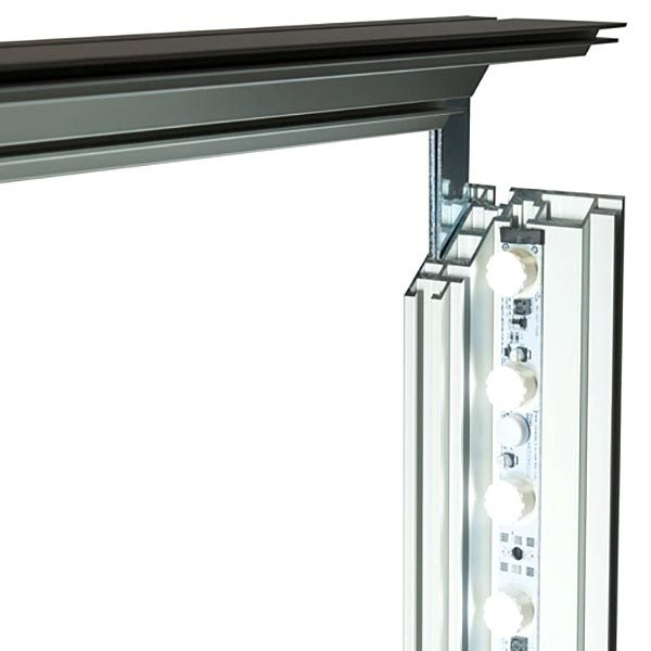 MaxiFrame LED 100 einseitig XXL Format 2500 x 4000 mm 4