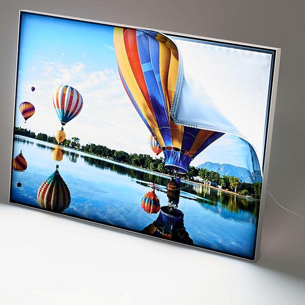 MaxiFrame LED 20 einseitig DIN A0 Postermaß 1