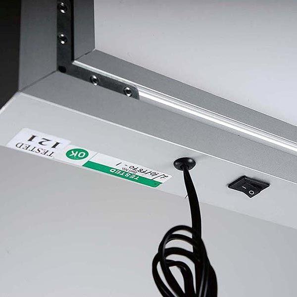MaxiFrame LED 20 einseitig DIN A0 Postermaß 13